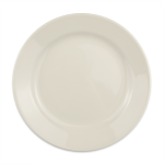 "Homer Laughlin 20500 9"" Round Plate - China, Ivory"