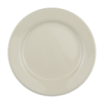 "Homer Laughlin 20600 9.63"" Round Plate - China, Ivory"