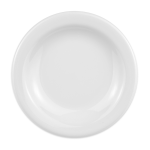 "Homer Laughlin 21110000 5.5"" Round Plate - China, Arctic White"