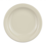 "Homer Laughlin 21200 6.5"" Round Plate - China, Ivory"