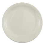"Homer Laughlin 22400 9"" Round Plate - China, Ivory"