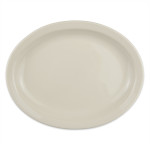 "Homer Laughlin 26000 11.38"" Oval Platter - China, Ivory"