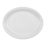 "Homer Laughlin 26010000 11.38"" Oval Platter - China, Arctic White"