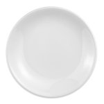 "Homer Laughlin 30410000 6.5"" Empire Round Plate - China, Arctic White"