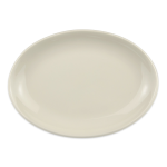 "Homer Laughlin 31100 8.38"" Oval Empire Platter - China, Ivory"