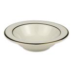 Homer Laughlin 3751409 4.25 oz Diplomat Gold Fruit Dish - China, Ivory