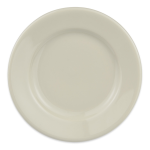 "Homer Laughlin 40300 5.5"" Round Durathin Plate - China, Ivory"