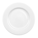 "Homer Laughlin 44410000 10.63"" Round Plate - China, Arctic White"
