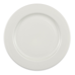 "Homer Laughlin 6396000 10.63"" Round Pristine Plate - China, Ameriwhite"