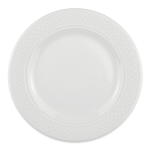 "Homer Laughlin 8766900 8.13"" Round Kensington Plate - China, Ameriwhite"