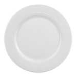 "Homer Laughlin 8776900 9"" Round Kensington Plate - China, Ameriwhite"