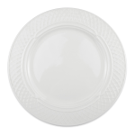 "Homer Laughlin 8826900 12.25"" Round Kensington Plate - China, Ameriwhite"