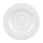 "Homer Laughlin 8846900 5.63"" Kensington Saucer - China, Ameriwhite"