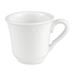 Homer Laughlin 8876900 7-oz Kensington Cup - China, Ameriwhite
