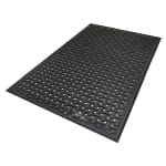 Andersen Mats 420-2-3 Comfort Flow Anti-Fatigue Mat w/ Drainage Holes, 2 x 3-ft, Black