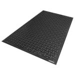 Andersen Mats 430-3-5 Comfort Flow Anti-Fatigue Mat, 3 x 5 ft, Slip-Resistant, Black
