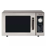 Panasonic NE-1025 1000w Pro Commercial Microwave with Dial Control, 120v