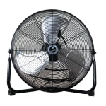 "TPI CF 12 12"" Floor Model Fan w/ 3-Speed Settings"