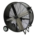 "TPI CPB36-B 36"" Portable Drum Fan w/ (2) Speeds - Steel, 120v"