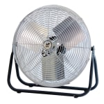 "TPI F-18-TE 18"" Industrial Floor Fan w/ (3) Speeds - Steel, 120v"
