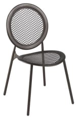 emu 3396 Antonietta Side Chair, Steel Mesh Seat & Back, Bronze