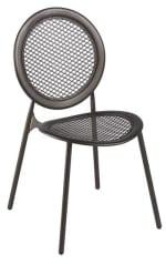 emu 3396 ALU Antonietta Side Chair, Steel Mesh Seat & Back, Aluminum