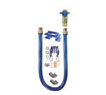 """Dormont 1675KITCF48PS QUICK SHIP 48"""" Gas Connector Kit w/ 3/4""""  Male/Male Couplings"""