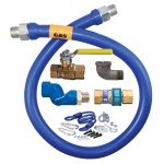 "Dormont 1675KITS36 36"" Gas Connector Kit w/ 3/4"" Inside Diameter"