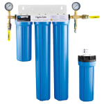 Dormont STMMAX-S3LP-LS 4 Stage Steam Max-S3L Lime Scale Filtration System w/ Ball Valves & Flush Kit