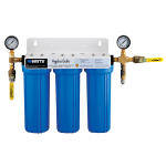 Dormont STMMAX-S3S-LS 3 Stage Steam Max-S3 Lime Scale Filtration System w/ Ball Valves & Flush Kit