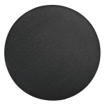 World Tableware BTM-6125 Black Mat for BT-6125 Tray