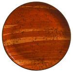 "World Tableware PTR-103 11"" Round Rust Plate - Ceramic"