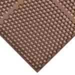 "Notrax T15U0034BR Optimat Grease-Resistant Floor Mat, 36 x 48 in, 1/2"" Thick, Brown"