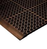 Notrax T12K0012BR Floor Mat Connector - For San-EZE Floor Mat, Brown