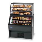 "Federal CD3628SS/RSS3SC 36"" Vertical Open Air Cooler w/ (6) Levels, Black, 120v"