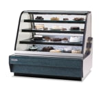 "Federal CGHIS-1 59"" Full Service Bakery Case w/ Curved Glass - (4) Levels, 120v"