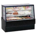 "Federal SGR5042 50"" Full Service Bakery Case w/ Straight Glass - (3) Levels, 120v"