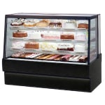 "Federal SGR7748 77"" Full Service Bakery Case w/ Straight Glass - (4) Levels, 120v"