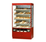 """Federal WDC4276SS 42"""" Self Service Bakery Case w/ Straight Glass - (5) Levels, 120v"""