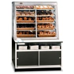 "Federal WDC-42 42"" Self Service Bakery Case w/ Straight Glass - (5) Levels, 120v"