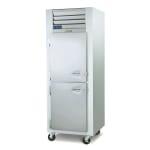 "Traulsen G10001 29.87"" Single Section Reach-In Refrigerator, (1) Solid Door, 115v"