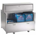 Traulsen RMC58D4 Milk Cooler w/ Side Access - (1024) Half Pint Carton Capacity, 115v