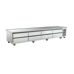 "Traulsen TE110HT 110"" Chef Base w/ (6) Drawers - 115v"