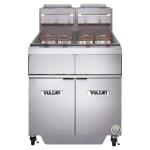 Vulcan 2GR45AF Gas Fryer - (2) 50 lb Vat, Floor Model, LP