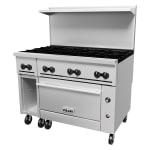 "Vulcan 48S-8B 48"" 8-Burner Gas Range w/ Standard Oven, LP"