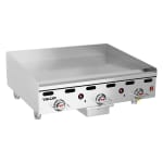 """Vulcan 936RX 36"""" Electric Griddle - Thermostatic, 1"""" Steel Plate, NG"""
