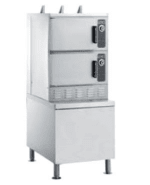Vulcan C24EA6 PS Electric Floor Model Steamer w/ (6) Full Size Pan Capacity, 240v/1ph