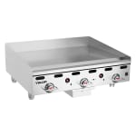 "Vulcan MSA36NG 36"" Gas Griddle - Thermostatic, 1"" Steel Plate, NG"
