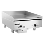 """Vulcan RRE24E 24"""" Electric Griddle - Thermostatic, 3/4"""" Steel Plate, 208v/3ph"""