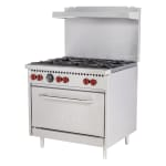"Vulcan SX36-6B 36"" 6-Burner Gas Range w/ Standard Oven, LP"